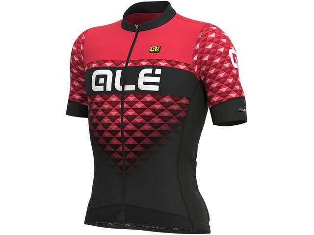 Alé Cycling PRS Hexa Koszulka z krótkim rękawem Mężczyźni, black/gerbera